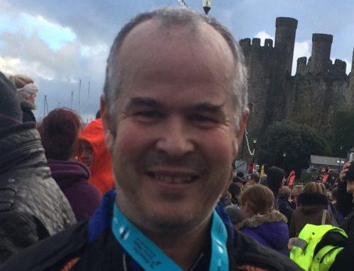 Peter's London Marathon effort to support TEN's anti-trafficking work