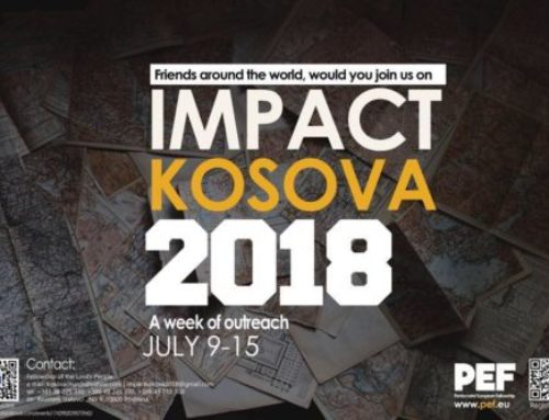 Sponsor a Balkan volunteer at IMPACT KOSOVA
