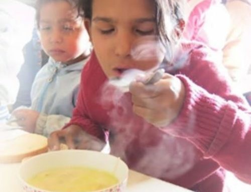 Help feed Europe's poorest children