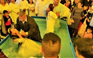 baptisms in tinca romania