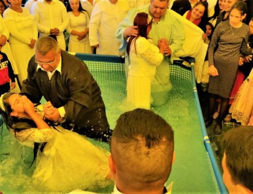 Twenty-eight new believers baptised in Romania
