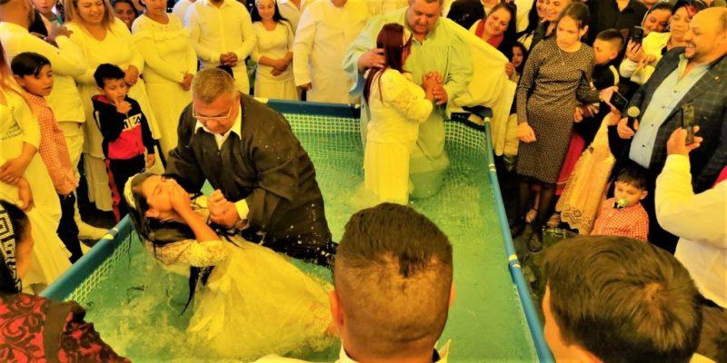 baptisms in tinca romania