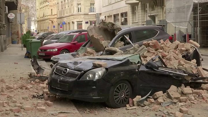 Croatia earthquake 2020