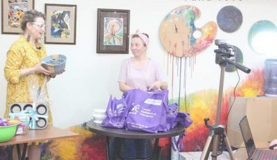 BOL Art therapy studio goes online