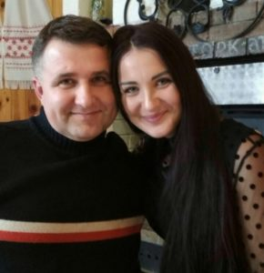 Daniel and Irinka Stracinski