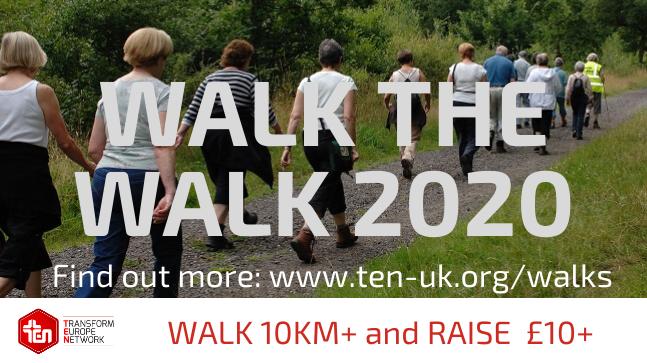 FUNDRAISING WALK FOR TEN