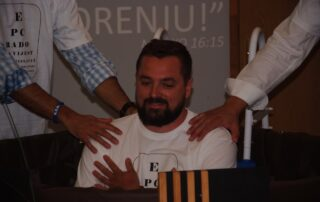 Camp baptisms in Croatia