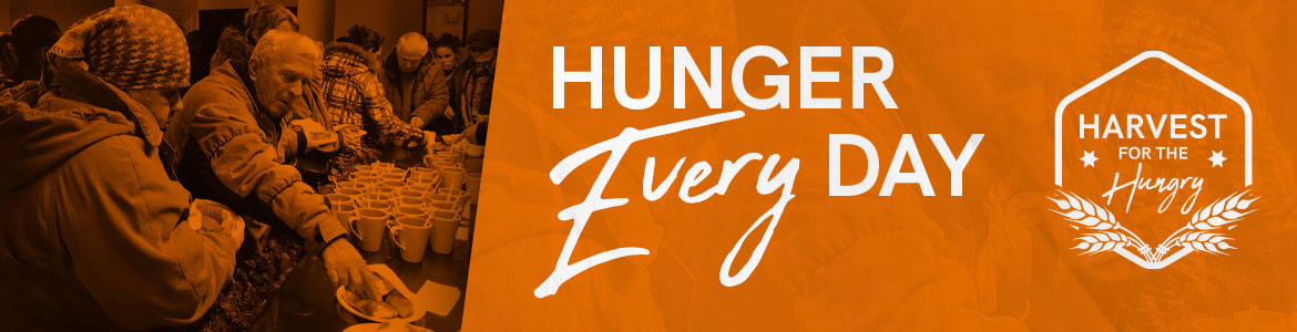 Harvest for the Hungry – Suffer the little children to come unto me (Matthew 19:14)