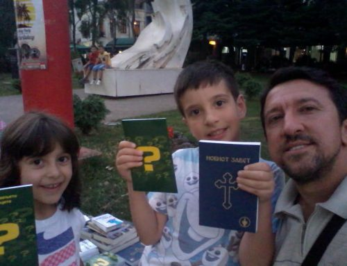 Family outreach in Resen, Macedonia