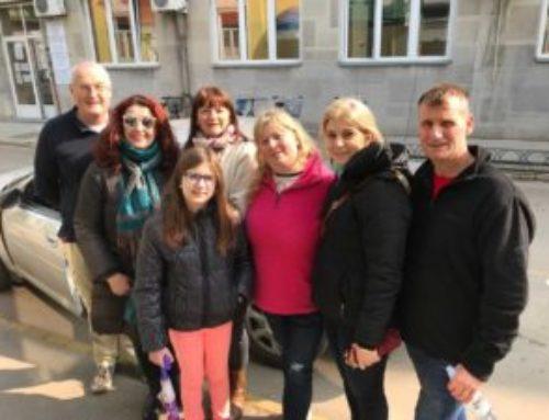 Northern Ireland church team return to Serbia