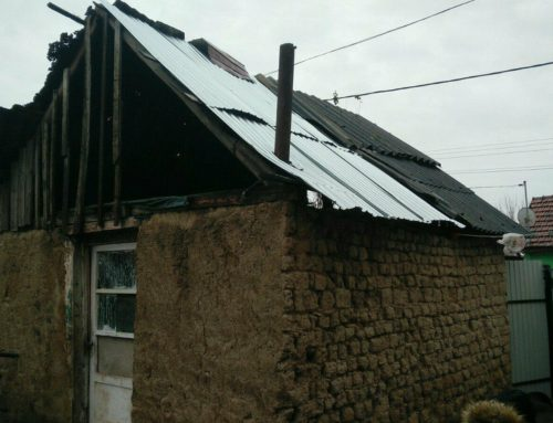 God answers prayer for repair of storm-damaged roofs in Romania