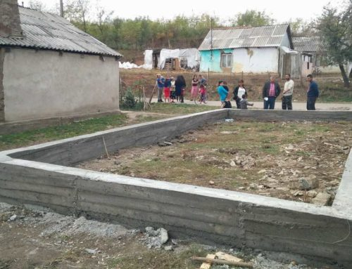 Help build a church for the new believers in Tarcea, Romania