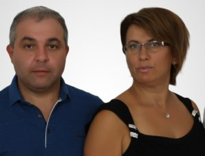 Petre and Daniela Petrov