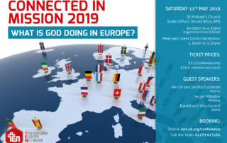 Connected in Mission conference Transform Europe Network